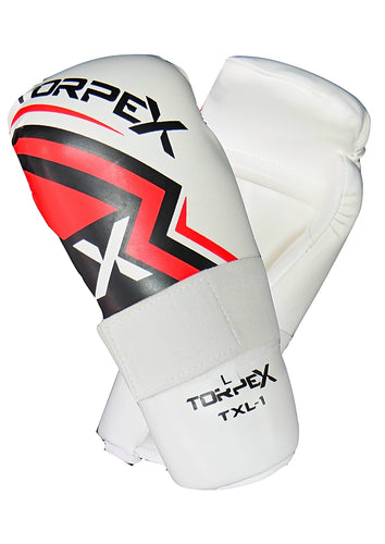 TXL White Semi Contact Gloves