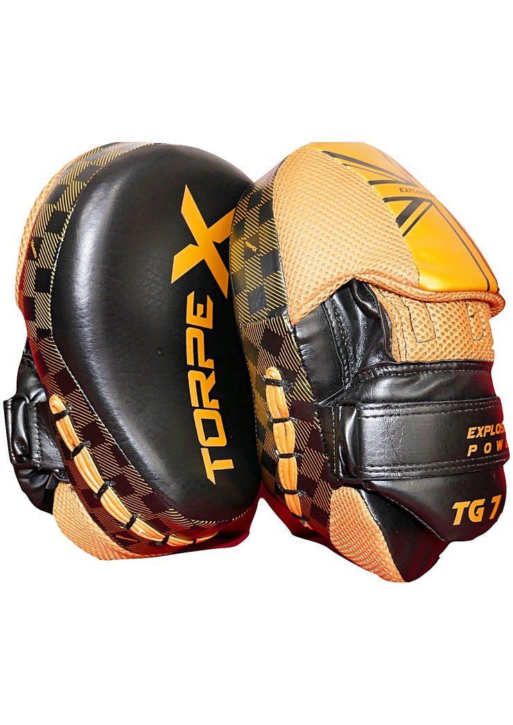 Black / Gold Focus Pads