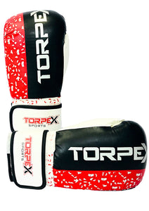 Red Distressed Boxing Gloves