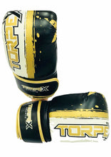 Load image into Gallery viewer, Black, White & Gold Bag Gloves