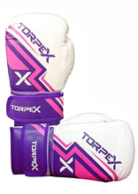 Load image into Gallery viewer, TXL Pink/Purple Boxing Gloves