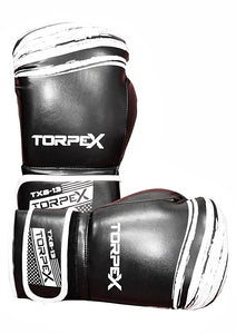 TXB Black/White Boxing Gloves