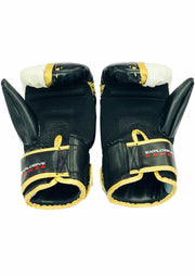 Black, White & Gold Bag Gloves