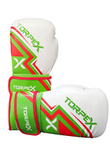 Load image into Gallery viewer, TXL Red/Green Boxing Gloves
