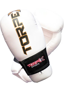 Torpex White Edition Semi Contact Gloves