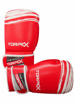 Load image into Gallery viewer, TXB Red/White Boxing Gloves