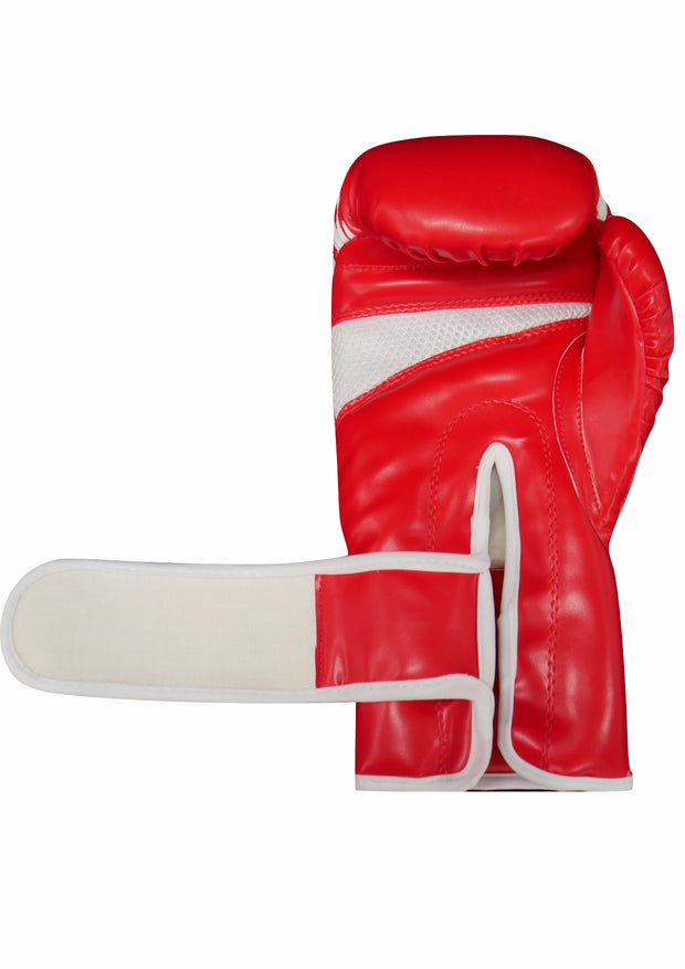 TXB Red/White Boxing Gloves