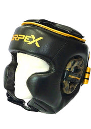 Black / Gold Headguard