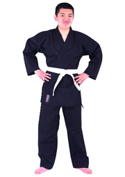 Black Karate Uniform 9oz