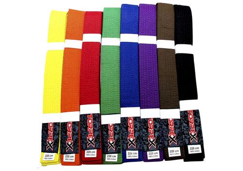 Colour Belts 220cm (Each)