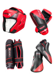 Red/Black Semi Contact Package