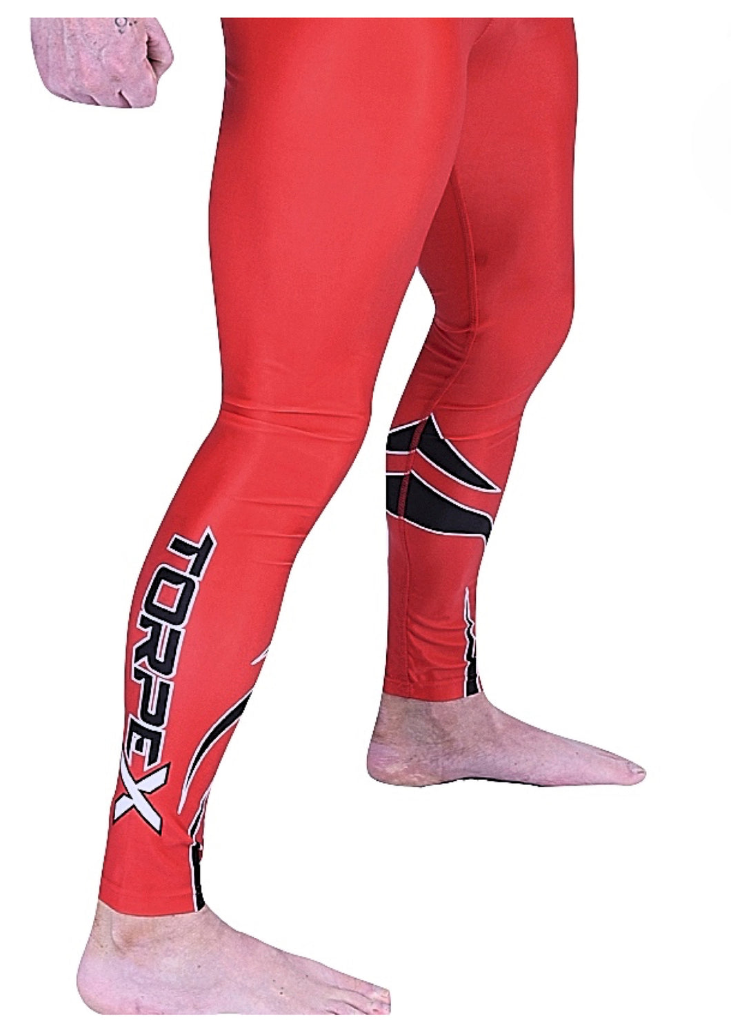 Red Compression Bottoms