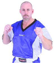Load image into Gallery viewer, Blue/White Kickboxing Uniform