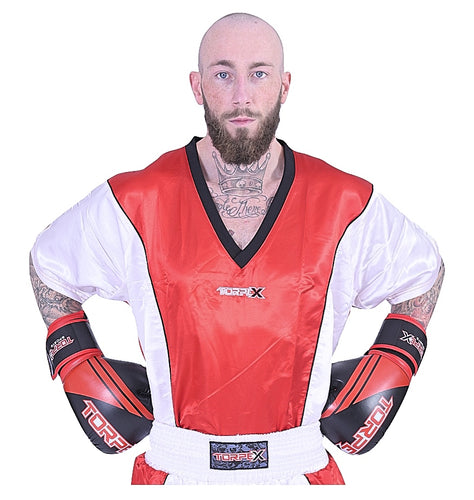 Red/White Kickboxing Uniform
