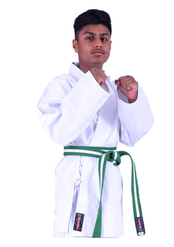 White Karate Uniforms 6oz
