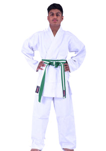White Karate Uniform 9oz (Big&Large)
