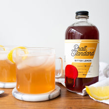 Bitter Lemon Syrup - 16oz