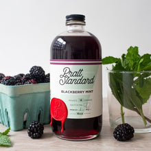 Blackberry Mint Syrup - 16oz