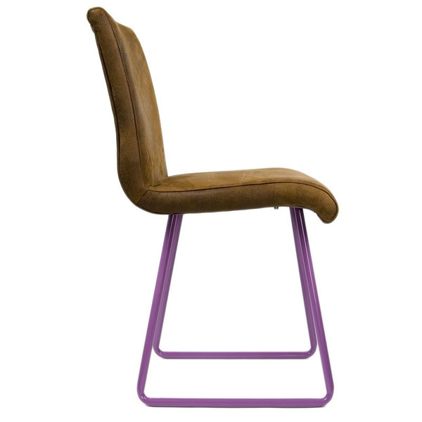 Chair With Violet Skids
