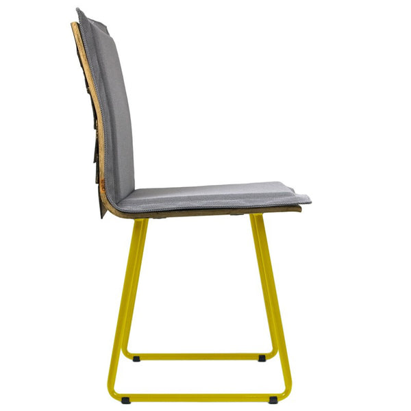 Shingle Chair With Yellow Skids