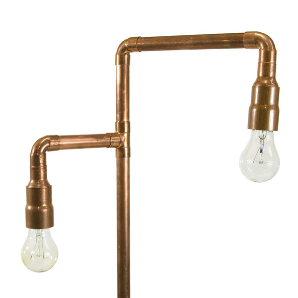 Copper Pipe Floor Lamp