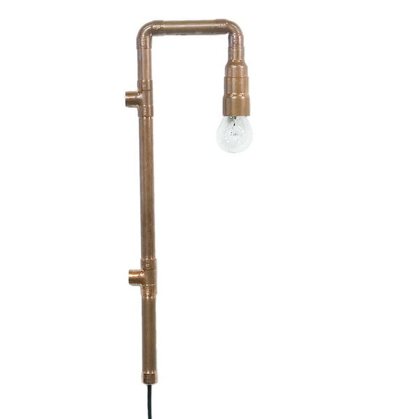 Copper Pipe Sconce Lamp