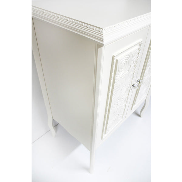 Stylish chest of drawers - high