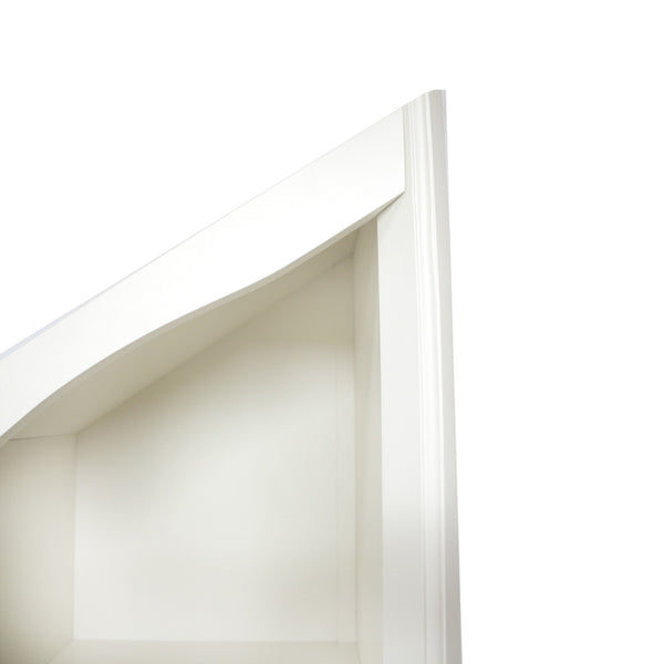 Stylish bookshelf - diagonal