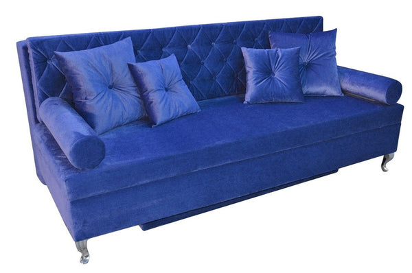 Sofa BAROQUE BLUE EN