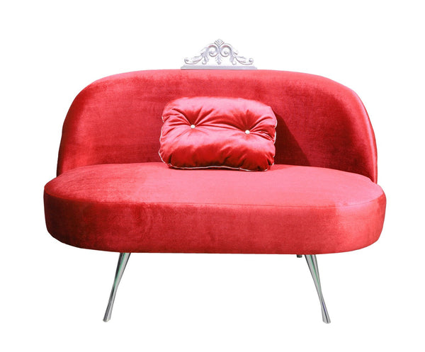 Sofa GLAMOUR 3 RED EN