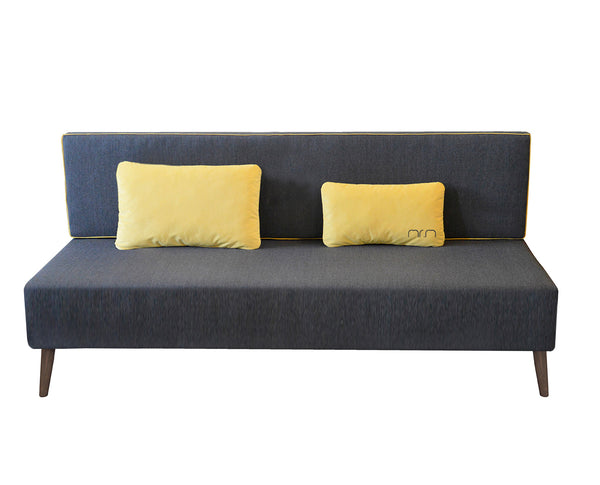 Sofa MR.M 2 /GRAPHITE/YELLOW EN
