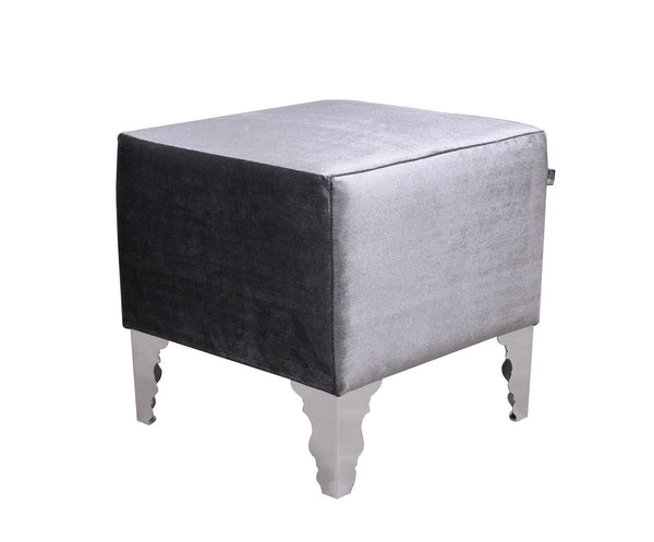 Stool GLAMOUR/gray EN