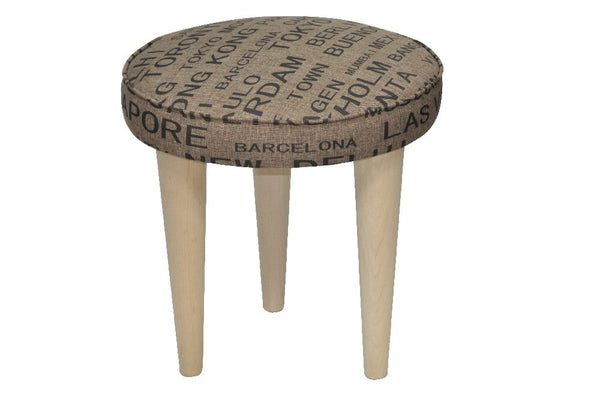 Stool MONKEY 3/BROWN EN