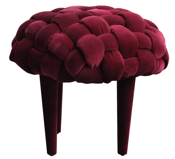 Stool BERRY 1/MAROON EN
