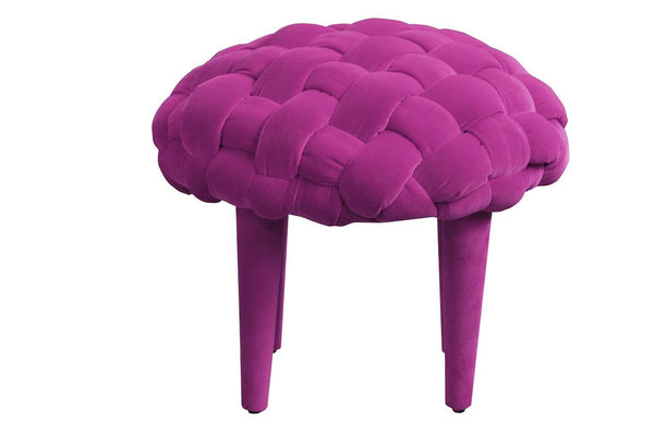 Stool BERRY 1/AMARANTH EN