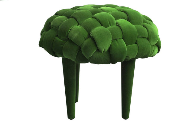 Stool BERRY 1/DARK GREEN EN