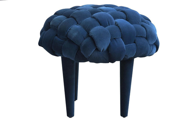 Stool BERRY 1/DARK BLUE EN