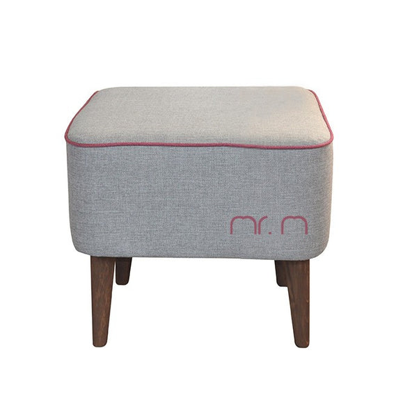 Pouf Mr.M GRAY /ROSE EN