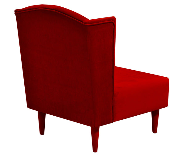 Armchair FLOXY plusz RED EN