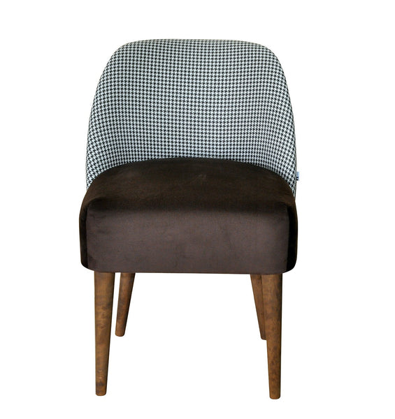 Armchair TWIGGY pepitka /BROWN EN