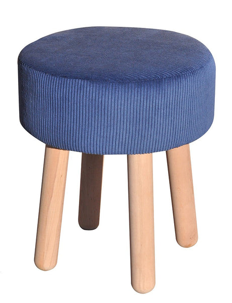 Stool Bobi/dark blue EN