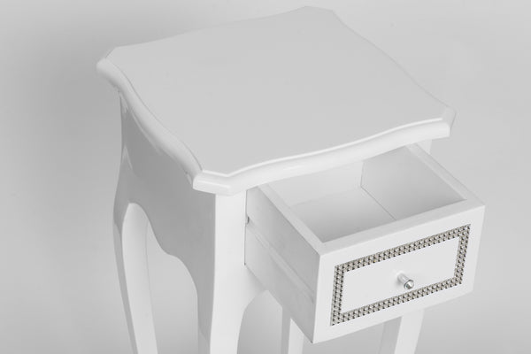 Console with drawer white PE2214