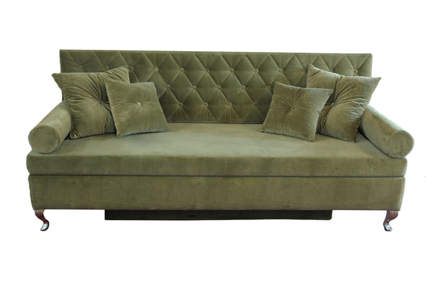 Sofa BAROQUE OLD GREEN  EN