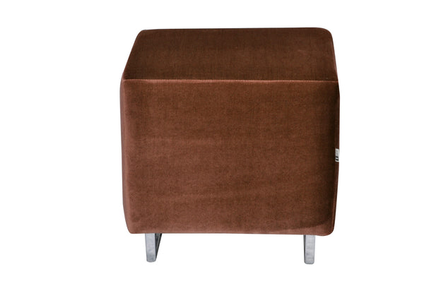 Pouf CUBI /BROWN EN