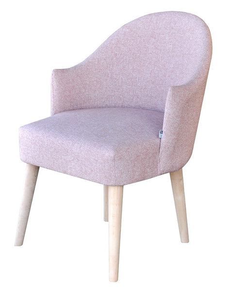 Armchair Shetland/light pink EN