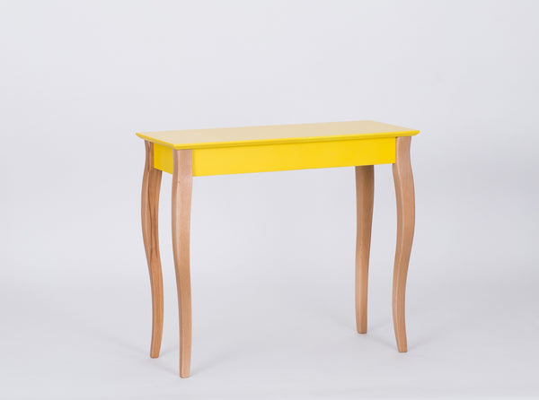 Console table LILLO middle size 85 cm yellow