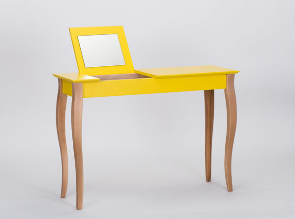 Console table LILLO with mirrow big 105 cm yellow