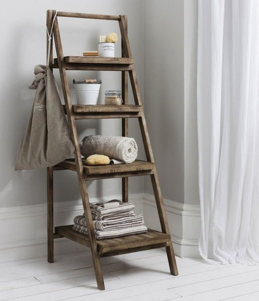 Ladder-bookshelf  Wood