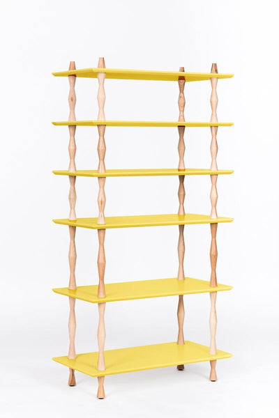 Bookcase KORRO 80 cm orange
