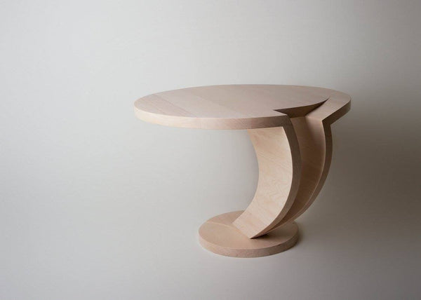 Coffee table made of solid wood- 1